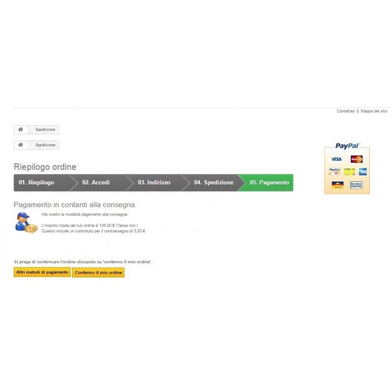 sito online pagamento alla consegna